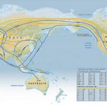 mapa migraciones humanas