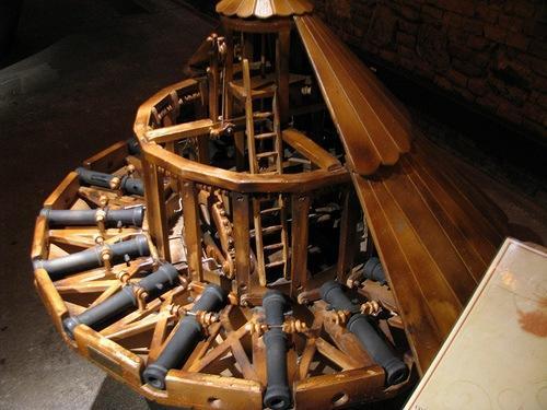 inventos de Leonardo Da  vinci
